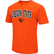 Colosseum Men's Oregon State Beavers Orange Dual Blend T-Shirt