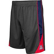 Colosseum Men's Arizona Wildcats Grey Turn Over Shorts