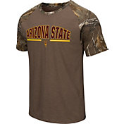 Colosseum Athletics Men's Arizona State Sun Devils Home Range Raglan T-Shirt