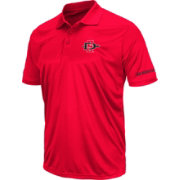 Colosseum Men's San Diego State Aztecs Red Performance Polo