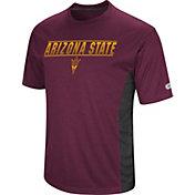 Colosseum Men's Arizona State Sun Devils Maroon Beamer T-Shirt
