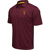 Colosseum Athletics Men's Arizona State Sun Devils Maroon Performance Polo