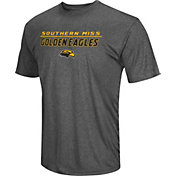 Colosseum Men's Southern Mississippi Golden Eagles Grey Matrix T-Shirt