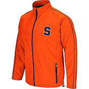 Colosseum Men's Syracuse Orange Orange Barrier Full Zip Wind Jacket