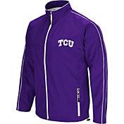 Colosseum Men's TCU Horned Frogs Purple Barrier Full Zip Wind Jacket