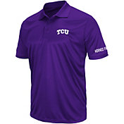 Colosseum Athletics Men's TCU Horned Frogs Purple Performance Polo