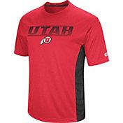 Colosseum Men's Utah Utes Crimson Beamer T-Shirt