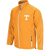 Colosseum Men's Tennessee Volunteers Tennessee Orange Barrier Full Zip Wind Jacket
