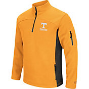 Colosseum Men's Tennessee Volunteers Tennessee Orange Advantage Quarter-Zip Jacket