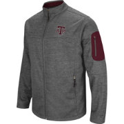 Colosseum Men's Texas A&M Aggies Grey Anchor Full-Zip Jacket