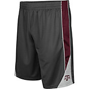 Colosseum Men's Texas AM Aggies Grey Turn Over Shorts
