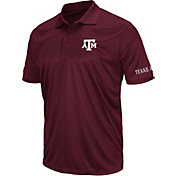 Colosseum Athletics Men's Texas AM Aggies Maroon Performance Polo