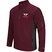 Colosseum Men's Virginia Tech Hokies Maroon Advantage Quarter-Zip Jacket