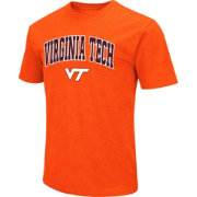 Colosseum Men's Virginia Tech Hokies Orange Dual Blend T-Shirt