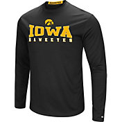 Colosseum Women's Iowa Hawkeyes Black Streamer Long Sleeve T-Shirt