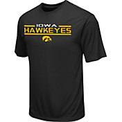 Colosseum Athletics Men's Iowa Hawkeyes Black T-Shirt