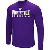 Colosseum Women's Washington Huskies Purple Streamer Long Sleeve T-Shirt