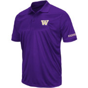 Colosseum Men's Washington Huskies Purple Performance Polo
