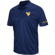 Colosseum Men's West Virginia Mountaineers Blue Performance Polo