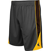 Colosseum Men's Wyoming Cowboys Grey Turn Over Shorts