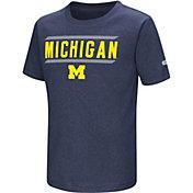 Colosseum Athletics Toddler Michigan Wolverines Blue Closer T-Shirt