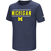 Colosseum Toddler Michigan Wolverines Blue Closer T-Shirt