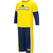 Colosseum Athletics Toddler Boys' Michigan Wolverines Blue Pointer Set