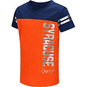 Colosseum Toddle Girls' Syracuse Orange Orange Cricket T-Shirt