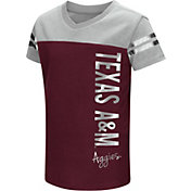 Colosseum Toddler Girls' Texas A&M Aggies Maroon Cricket T-Shirt