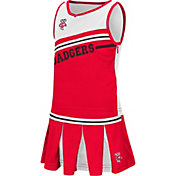 Colosseum Athletics Toddler Girls' Wisconsin Badgers Red Curling Cheer Set