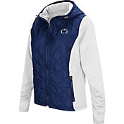 Colosseum Women's Penn State Nittany Lions Blue/White Six Fingers Full-Zip Jacket