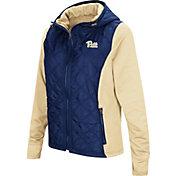 Colosseum Women's Pitt Panthers Blue/Gold Six Fingers Full-Zip Jacket