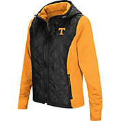 Colosseum Women's Tennessee Volunteers Black/Tennessee Orange Six Fingers Full-Zip Jacket