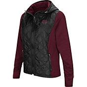 Colosseum Women's Texas A&M Aggies Black/Maroon Six Fingers Full-Zip Jacket