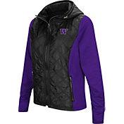 Colosseum Women's Washington Huskies Black/Purple Six Fingers Full-Zip Jacket