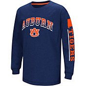 Colosseum Youth Auburn Tigers Blue Grandstand Long Sleeve T-Shirt