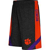 Colosseum Athletics Youth Clemson Tigers Black Setter Shorts