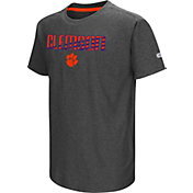 Colosseum Youth Clemson Tigers Grey Hat Trick T-Shirt