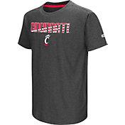 Colosseum Youth Cincinnati Bearcats Grey Hat Trick T-Shirt