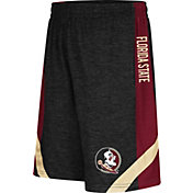 Colosseum Athletics Youth Florida State Seminoles Black Setter Shorts