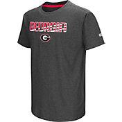 Colosseum Youth Georgia Bulldogs Grey Hat Trick T-Shirt