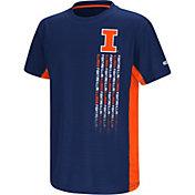 Colosseum Youth Illinois Fighting Illini Blue Setter T-Shirt