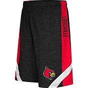 Colosseum Athletics Youth Louisville Cardinals Black Setter Shorts