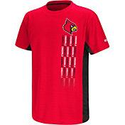 Colosseum Youth Louisville Cardinals Cardinal Red Setter T-Shirt