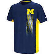 Colosseum Youth Michigan Wolverines Blue Setter T-Shirt