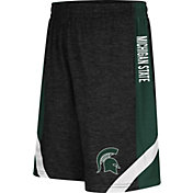 Colosseum Athletics Youth Michigan State Spartans Black Setter Shorts