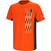 Colosseum Youth Miami Hurricanes Orange Setter T-Shirt