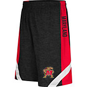 Colosseum Athletics Youth Maryland Terrapins Black Setter Shorts