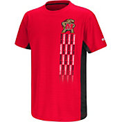 Colosseum Youth Maryland Terrapins Red Setter T-Shirt