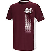 Colosseum Youth Mississippi State Bulldogs Maroon Setter T-Shirt